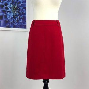 Talbots Wool Blend A-line Skirt